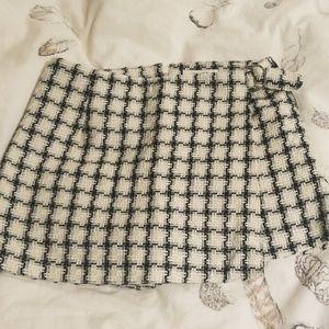 Tweed skorts